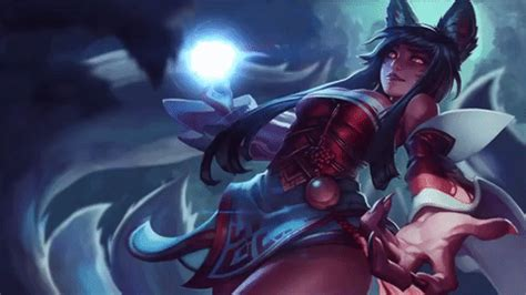 Anime Moving Wallpaper Gif - ahri animated wallpaper by cjxander on deviantart