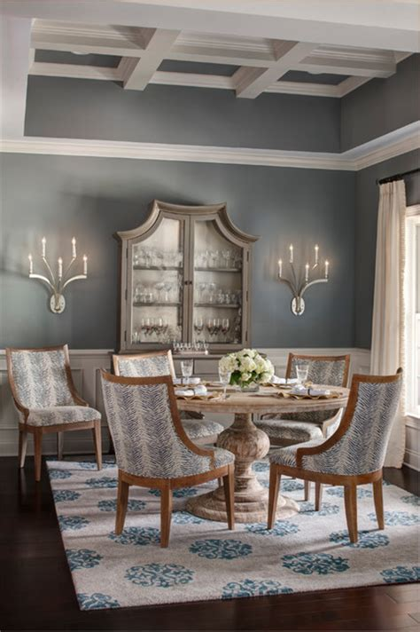 enclave transitional dining room  metro