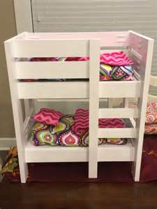 18 inch doll kitchen furniture white american doll bunk beds diy projects