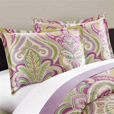 echo design vineyard paisley comforter set