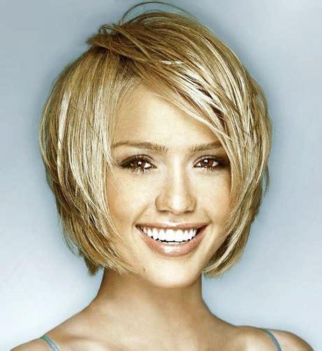 short haircuts  oblong faces