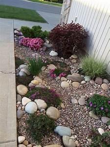 Genius, Low, Maintenance, Rock, Garden, Design, Ideas, For, Frontyard, And, Backyard, 43
