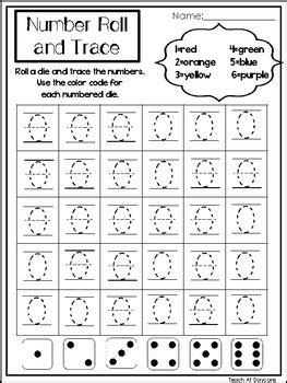 0 20 number roll and trace printable worksheets preschool 481 | original 3466983 1