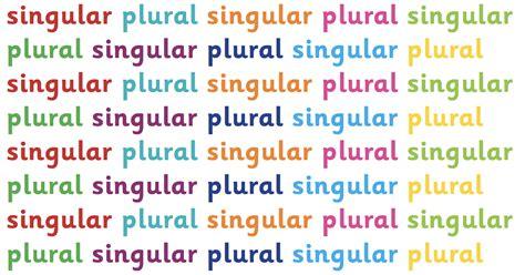 Singular And Plural Explained For Children  What Are Singular And Plural?  Singular And Plural