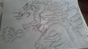 Anime Godzilla/ Godzilla 2017 doodle by timothyallman on ...