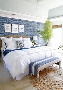 Beautiful, Blue, Bedroom, Decor, Ideas