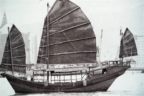 Race Junk Boats by Multimedia Living Heritage Of Hong Kong