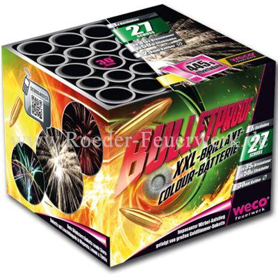 bulletproof von weco feuerwerk  kaufen