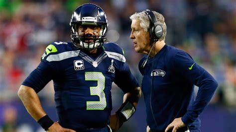 seahawks pete carroll stands  decision  pass