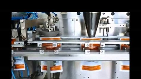 horizontal packing machine premade pouch packer zippered bag fill seal doypack machinery youtube
