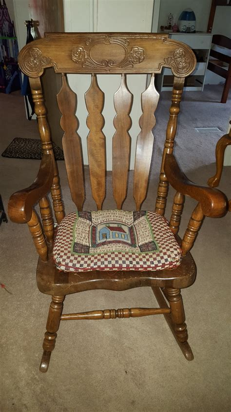 how much is my sk 814 rocking chair worth i m trying to