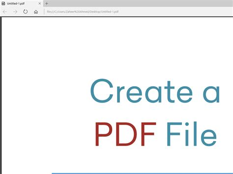 How To Create A Pdf File With Adobe Photoshop 4 Steps
