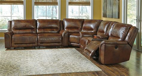 furniture reclining sectional jayron leather power reclining sectional sectionals