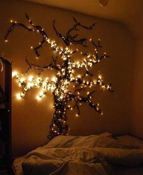 light tree on wall 24 modern interior decorating ideas incorporating tree