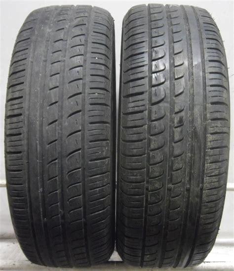 2 2056015 Pirelli 205 60 15 P7 Part Worn Used Car Tyres X2