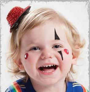 Maquillage Enfant Facile : maquillage pour halloween pour enfant maquillage halloween ~ Melissatoandfro.com Idées de Décoration