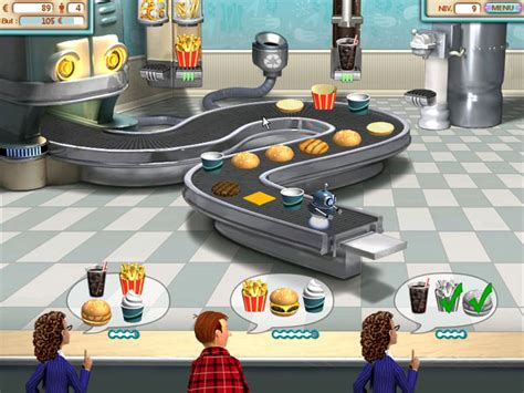 jeux de cuisine hamburger burger shop gt jeu iphone android et pc big fish