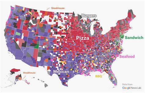Mapping The Us Gastronomic Borders