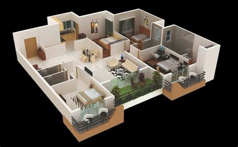 """There are several home design apps you can download on your ipad. 50 Four """"4"""" Bedroom Apartment/House Plans 