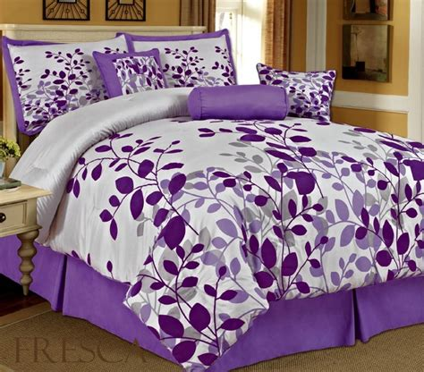 12 cute and awesome purple comforter sets for your bedroom