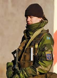 Female Swedish Special Forces