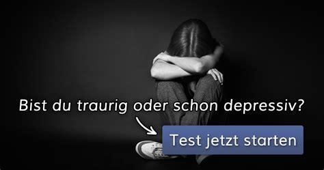 ᐅ depression test bist du traurig oder schon depressiv