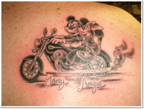 amazing car  motorcycle tattoo designs