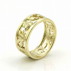 mans solid 9ct yellow gold masonic wedding ring free With mason wedding rings