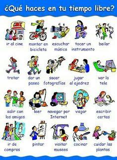 tiempo libre images teaching spanish learning