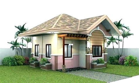A Cute Small Home With Beautiful Features : Cute Small House Cute House Ideas Small House Design
