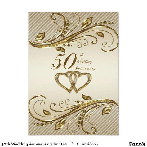wedding anniversary invitation card zazzlecouk