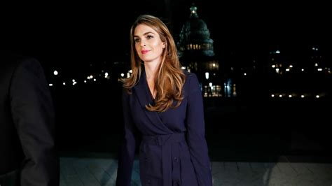 Report: Hope Hicks Told House Intel She Lies for Trump