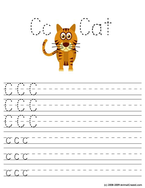letter  worksheets  young learners kittybabylovecom
