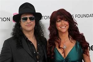 Slash divorce: Guns N' Roses star's wife Perla Ferrar ...