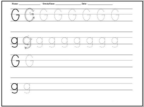 g worksheets for preschool free printable letter g worksheets for kindergarten 713