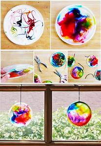 Basteln Mit Schulkindern : 30 genius glue art and craft ideas bored art ~ Frokenaadalensverden.com Haus und Dekorationen