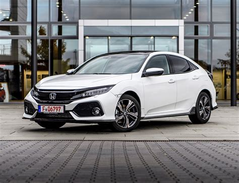 Honda Civic Hatchback Picture by 2017 Honda Civic Review Parkers