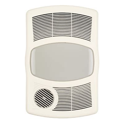 Exhaust Fans For Bathrooms Ratings by Broan 100 Cfm Exhaust Bathroom Fan With Heater Reviews