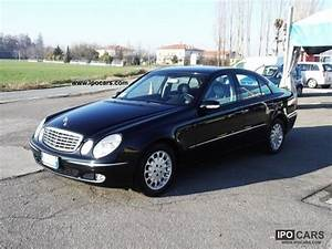 Mercedes E 270 Cdi : 2003 mercedes benz leaving cl e w s211 e 270 cdi elegance cat car photo and specs ~ Melissatoandfro.com Idées de Décoration