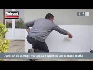 Proteger Le Bas Des Murs Exterieurs : prot ger les murs des infiltrations d 39 eau avec la peinture etanche rubson youtube ~ Dode.kayakingforconservation.com Idées de Décoration