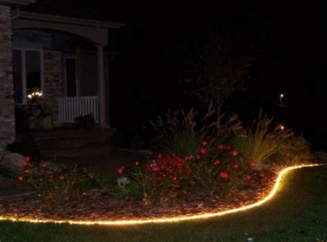 rope lighting ideas     garden gardenoholic