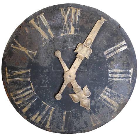 Decorative Clock - iron decorative wall clock at 1stdibs