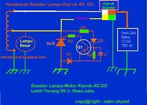 Membuat Sendiri Booster Lampu Besar Sepeda Motor
