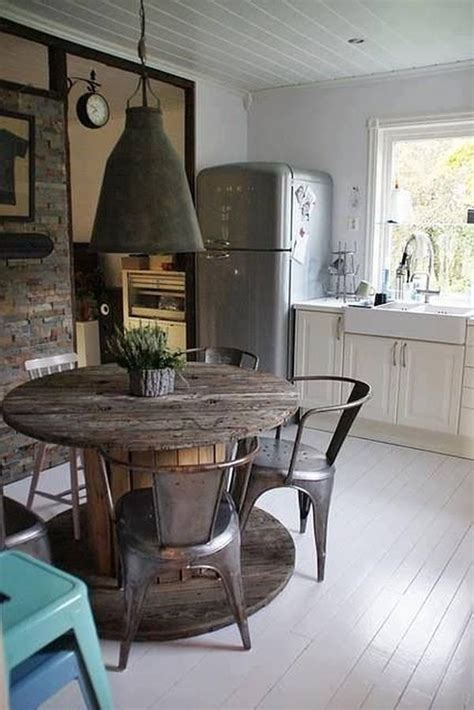 wooden spool cable table home decorating trends homedit