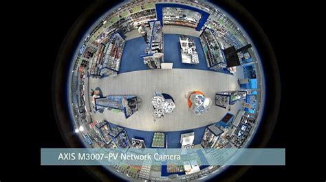axis  degree fixed surveillance camera youtube
