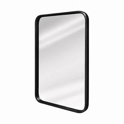 Mirror Rectangle Teak Frame Round Face Mirrors