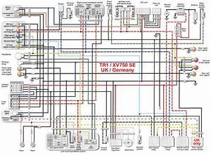 1982 Yamaha Virago 750 Wiring Diagram