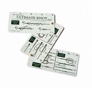 Fisherman U0026 39 S Knot Guide Card
