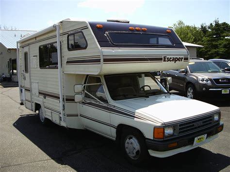 toyota motorhome 1987 toyota escaper motorhome for sale in wisconsin rapids