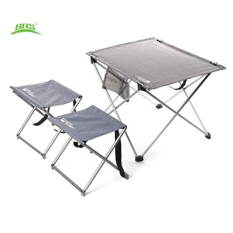 siege table brs oxford fabric portable foldable folding table desk